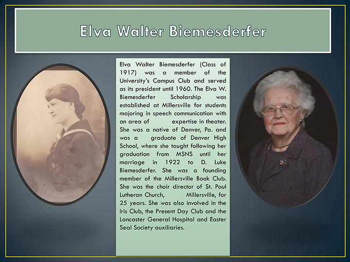 Elva Walter Biemesderfer