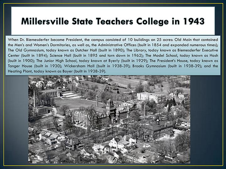 Millersville State Teachers College