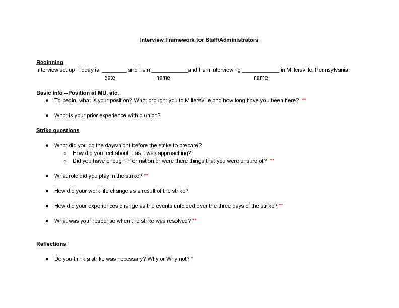 Interview Framework for Staff%2FAdministrators.pdf