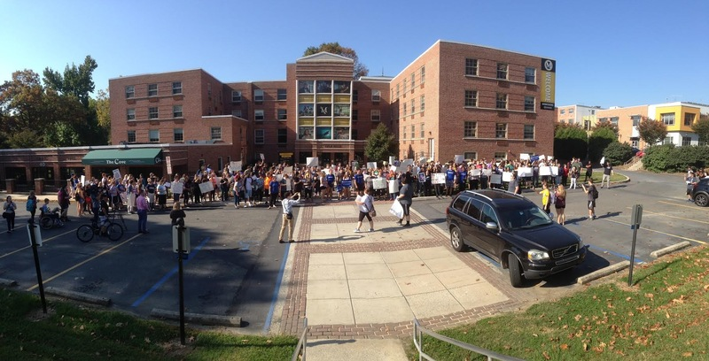 Lyle Hall Protest