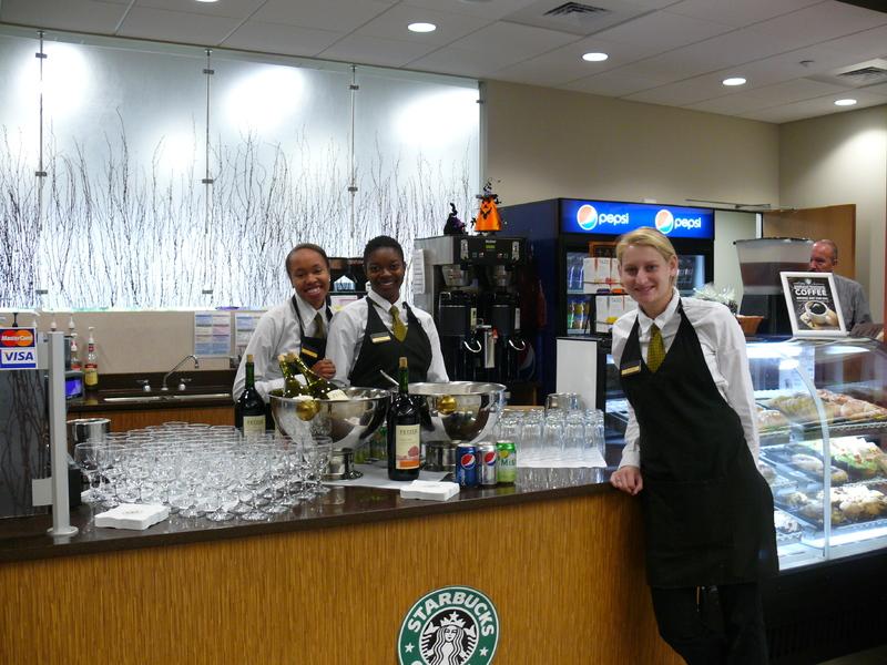 Library Dedication Starbucks