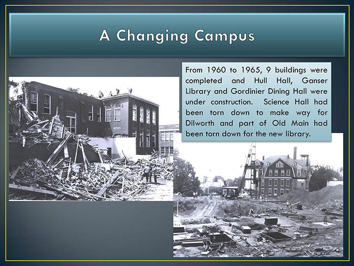 Changing campus