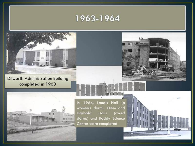 New Buildings, 1963-1964