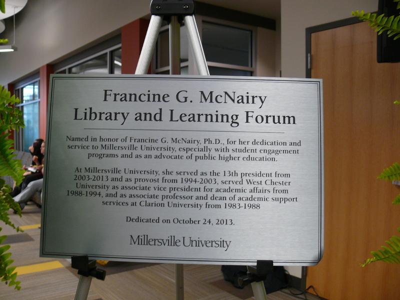 Library Dedication
