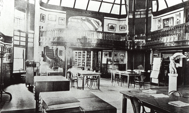 Library West Wing 1906