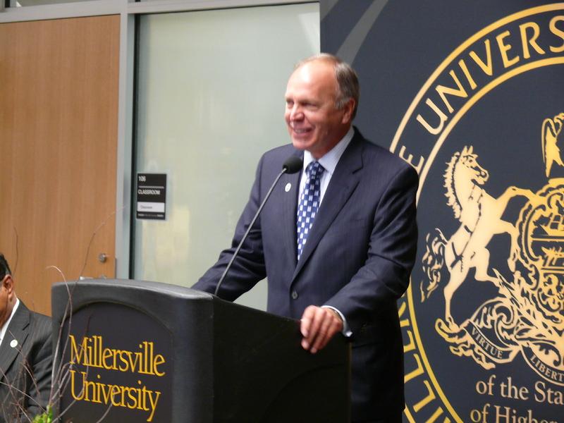 Library Dedication, John Anderson, President