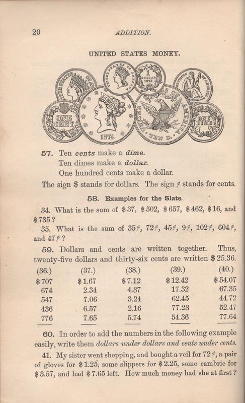 Seaver Arithmetic Coins