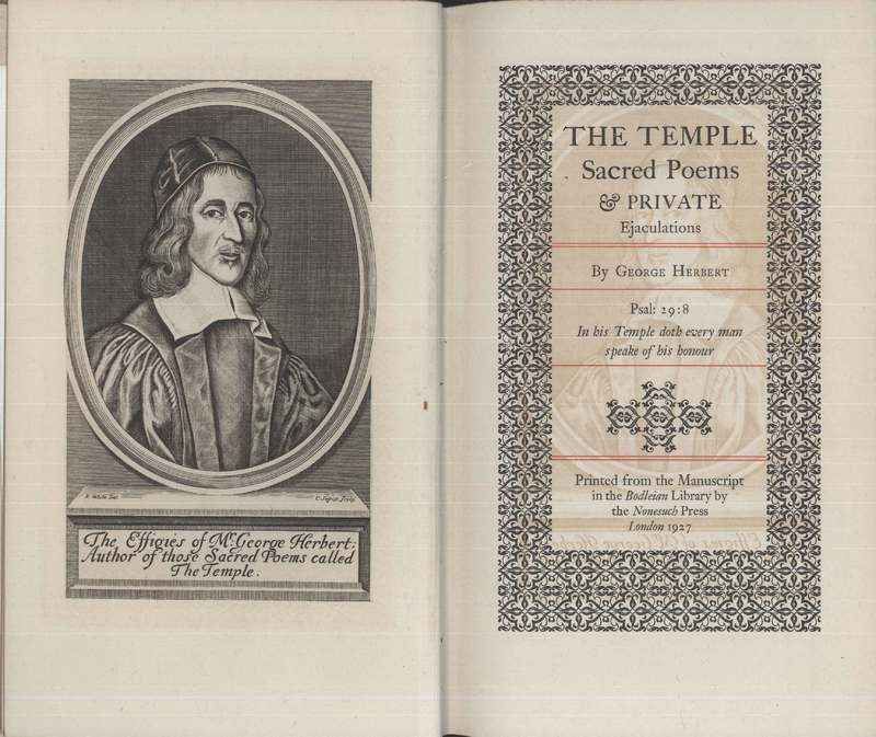 The Temple title page