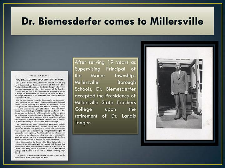 Biemesderfers to Millersville