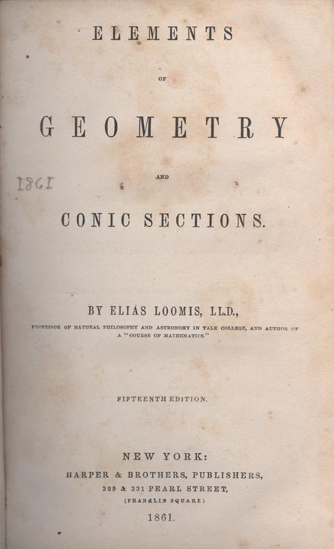 Loomis Geometry