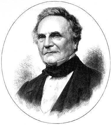 Charles Babbage Drawing