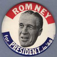 Presidential Candidates Political Buttons