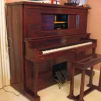 Restored Pneumatic Player Piano