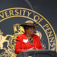Library Dedication, Francine McNairy