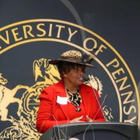 Library Dedication, Francine McNairy