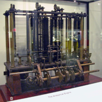 Piece of Babbage's Analytical Engine